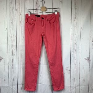 J. Crew Toothpick Skinny Ankle Colored Jeans